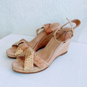 Sperry Espadrille Wedge Heels Size 8